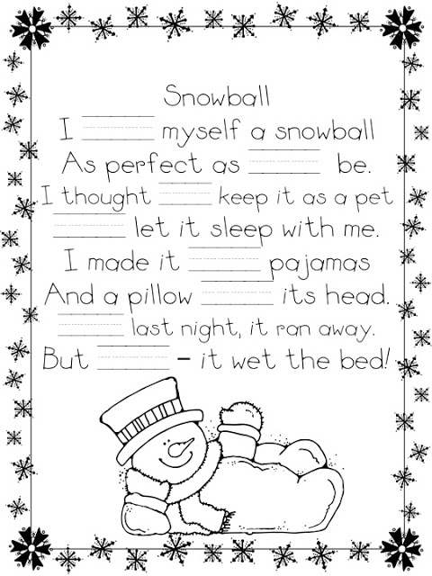 Snowballs A Teeny Tiny Teacher