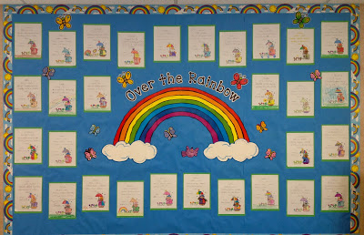 Bulletin Boards {UPDATED WITH WRITING PAPER}