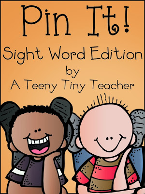 Pin It – Sight Word Edition (and a freebie)