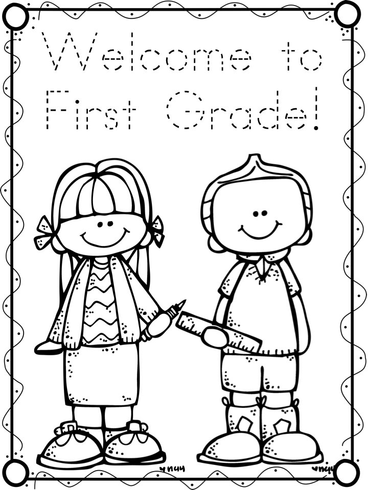 first day of school coloring pages for kindergarten - first day freebies a teeny tiny teacher