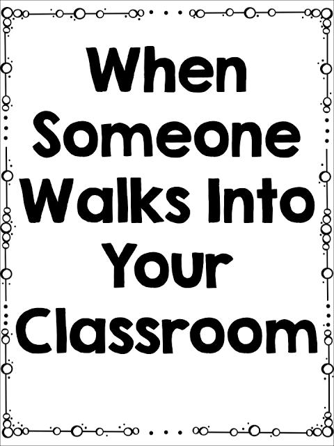 When Someone Walks In