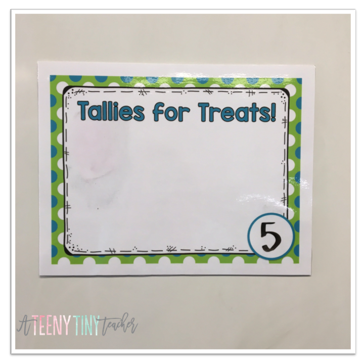 Tallies for Treats