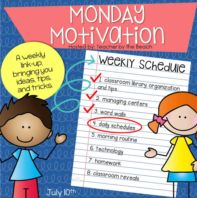 Monday Motivation – Daily Schedule