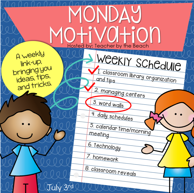 Monday Motivation – Word Walls